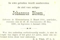 Bloem Johannus