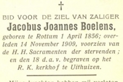 Boelens Jacobus Johannes