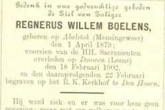 Boelens Regnerus Willem