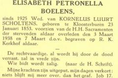 Boelens Elisabeth Petronella