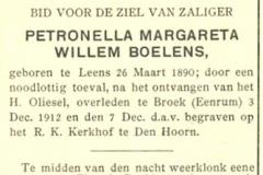 Boelens Petronella Margareta Willem