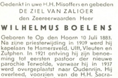 Boelens Wilhelmus