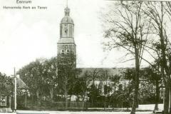 Kerk en toren 1920