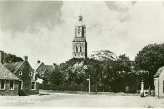 Vanaf Hereweg op kerk - 1960