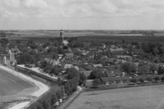 luchtfoto vanuit zuiden 1955