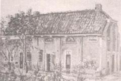 De Fuik - tekening 1850